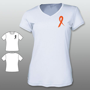 ACCF RIBBON V-Neck Ladies Sport Tee